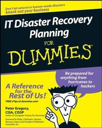 IT Disaster Plan